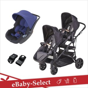 日本育児 ツイントラベルシステム スナップギア シングルセット(送料無料)|ebaby-select