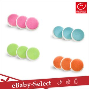 日本育児 爪やすり ネイルケア取り替えパット 同色3個セット|ebaby-select