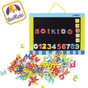 木製 マグネットボード 子供用 黒板 / ホワイトボード アルファベット マグネットセット Boikido(ボイキド)(送料無料)|ebaby-select