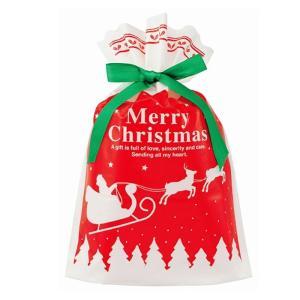 バッグのプレゼントに最適な可愛いラッピング袋です。  紐を結ぶだけで、あっという間にラッピングの完成...