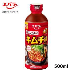 エバラ キムチ鍋の素500ml 濃縮3倍→1.5L・6-8人分