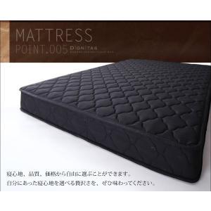 ベッド シングル シングルベッド フロアベッド ローベッド dignitas ディニタス Pポケットマットレス付き シングルサイズ ベット|ebazal|19