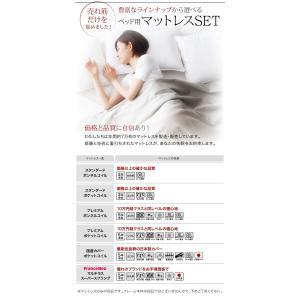 ベッド シングル シングルベッド フロアベッド ローベッド dignitas ディニタス Pポケットマットレス付き シングルサイズ ベット|ebazal|09