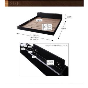 ベッド シングル シングルベッド フロアベッド ローベッド dignitas ディニタス Pポケットマットレス付き シングルサイズ ベット|ebazal|10