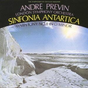 プレヴィン/V・ウィリアムズ:交響曲全集VI 南極交響曲(交響曲第7番)&交響曲第8番
