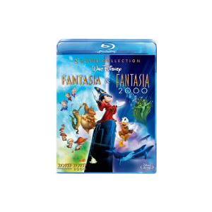 ファンタジア ダイヤモンド・コレクション&ファンタジア2000 ブルーレイ・セット(Blu−ray Disc) ebest-dvd