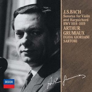 グリュミオー/バッハ:ヴァイオリンとチェンバロのためのソナタ(全曲)|ebest-dvd