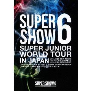 SUPER JUNIOR/SUPER JUNIOR WORLD TOUR SUPER SHOW6 in JAPAN(2DVD)