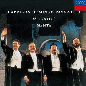 パヴァロッティ/ドミンゴ/カレーラス/3大テノール/世紀の競演|ebest-dvd