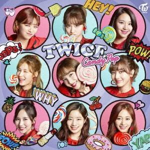TWICE/Candy Pop(通常盤)の商品画像
