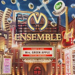 Mrs.GREEN APPLE/ENSEMBLE(初回限定盤)(DVD付)|ebest-dvd