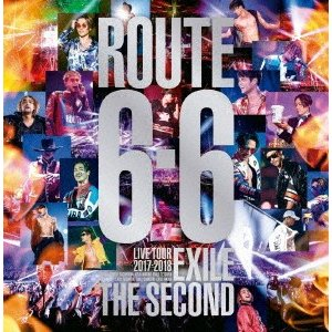 """EXILE THE SECOND/EXILE THE SECOND LIVE TOUR 2017−2018 """"ROUTE 6・6""""(初回生産限定盤)(