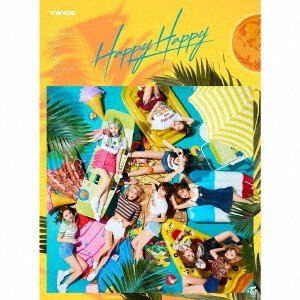 TWICE/HAPPY HAPPY(初回生産限定盤A)(DVD付)
