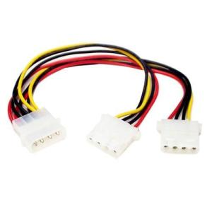 StarTech PYO2L 電源2分岐ケーブル IDE電源オス - 2x IDE電源メス|ebest