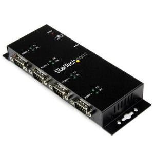 StarTech ICUSB2324I ウォールマウント型 USB-4x RS232C変換ハブ|ebest