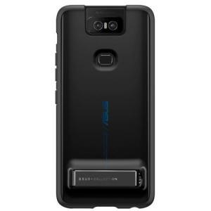 ASUS ZenFone 6(ZS630KL)専用 Stand Case ミッドナイトブラック 90AC03N0-BCS009 ebest