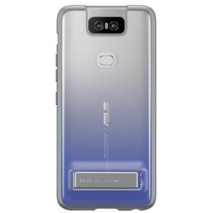 ASUS ZenFone 6(ZS630KL)専用 Stand Case トワイライトシルバー 90AC03N0-BCS010 ebest