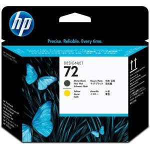 HP C9384A 純正 HP72 プリントヘッド マットブラック/イエロー|ebest