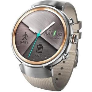 ASUS WI503Q-RGR04(シルバー/ベージュ) ZenWatch 3 腕時計タイプ|ebest