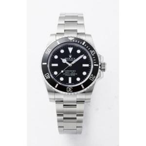ROLEX 114060 サブマリーナ ノンデイト ブラック...
