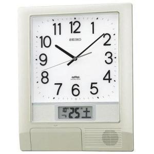 セイコー PT201S(銀色メタリック塗装) 電波掛け時計|ebest