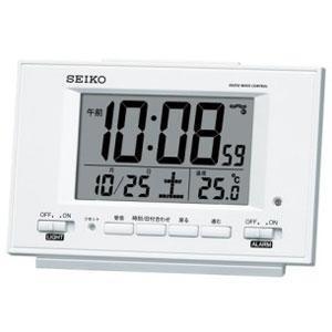 セイコー SQ778W(白パール) 電波目覚まし時計の関連商品5