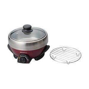 アビテラックス APN-20G-R(ワインレッド/ブラック) ミニグリル鍋 ebest