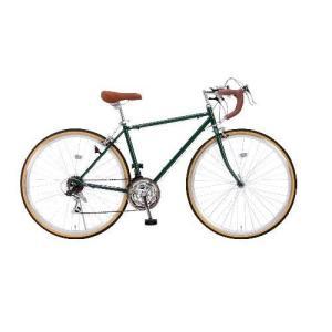 レイチェル RD-7021R 700Cクラシカルロードバイク シマノ21段変速アイビーグリーン|ebest