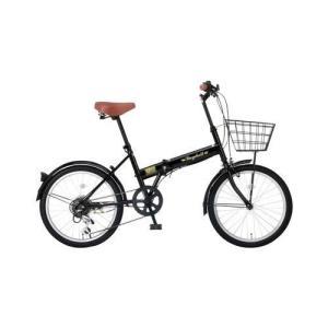 レイチェル FB-206R 20インチ 6段変速 折畳自転車 ブラック|ebest
