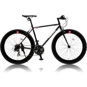 canover HEBE クロスバイク CAC-024 700×25C シマノ21段変速 ブラック|ebest