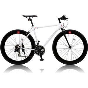 canover HEBE クロスバイク CAC-024 700×25C シマノ21段変速 ホワイト|ebest