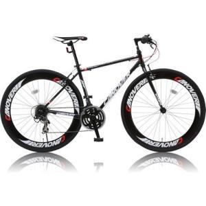canover NYMPH クロスバイク CAC-025 700×28C シマノ21段変速 ブラック