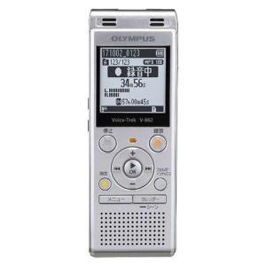 オリンパス V-862 SLV(シルバー) Voice-Trek ICレコーダー 4GB|ebest