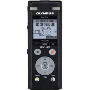 オリンパス DM-750 BLK(ブラック) Voice-Trek ICレコーダー 4GB|ebest