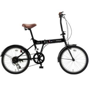 マイパラス M-208BK(ブラック) 折畳自転車20・6SP|ebest