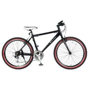ランボルギーニ クロスバイク 26インチ 18段変速 TL-972 ブラック|ebest