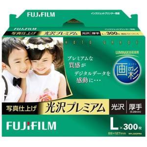 富士フイルム WPL300PRM 画彩 写真仕上げ 光沢プレミアム L 300枚入|ebest