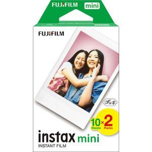 富士フイルム instax mini チェキ用フィルム 2パック 10枚入×2