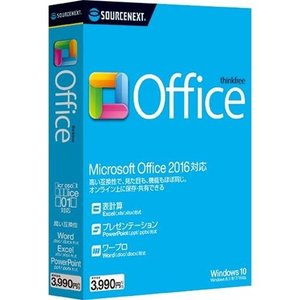 ソースネクスト ThinkFree Office Microsoft Office 2016対応版