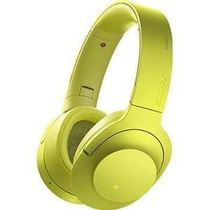 ソニー MDR-100ABN-Y(ライムイエロー) h.ear on Wireless NC Bluetoothヘッドホン|ebest
