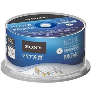 ソニー 50CRM80HPWP 音楽用 CD-R 一回(追記)録音 プリンタブル 50枚|ebest