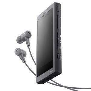 ソニー NW-A45HN-B(グレイッシュブラック) ソニー ウォークマンAシリーズ 16GB|ebest