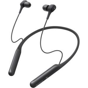 ソニー WI-C600N-B(ブラック) ワイヤレスノイズキャンセリングステレオヘッドセット|ebest
