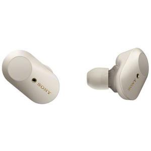 ソニー WF-1000XM3-S(プラチナシルバー) ワイヤレスノイズキャンセリングステレオヘッドセット|ebest