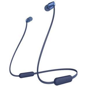 ソニー WI-C310(L) (ブルー) ワイヤレスステレオヘッドセット ebest