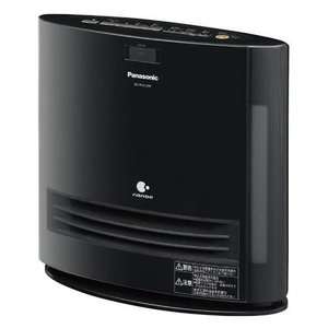 パナソニック DS-FKX1205-K(ブラック) 加湿セラミックヒーター 1250W ナノイー搭載 人感センサー付|ebest