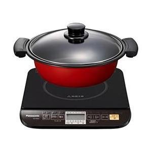 パナソニック KZ-PG33-K(ブラック) 卓上IH調理器 鍋付