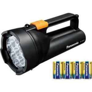パナソニック BF-BS05K-K(ブラック) LED懐中電灯 単1形 4本使用|ebest