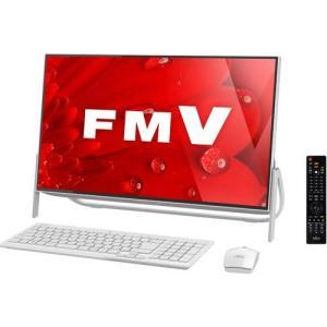 富士通 FMVF77B1W(スノーホワイト) ESPRIMO FHシリーズ 23.8型液晶 TVチューナー搭載|ebest