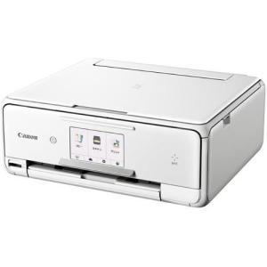 CANON PIXUS(ピクサス) TS8030WH(ホワイト) インクジェット複合機 A4対応